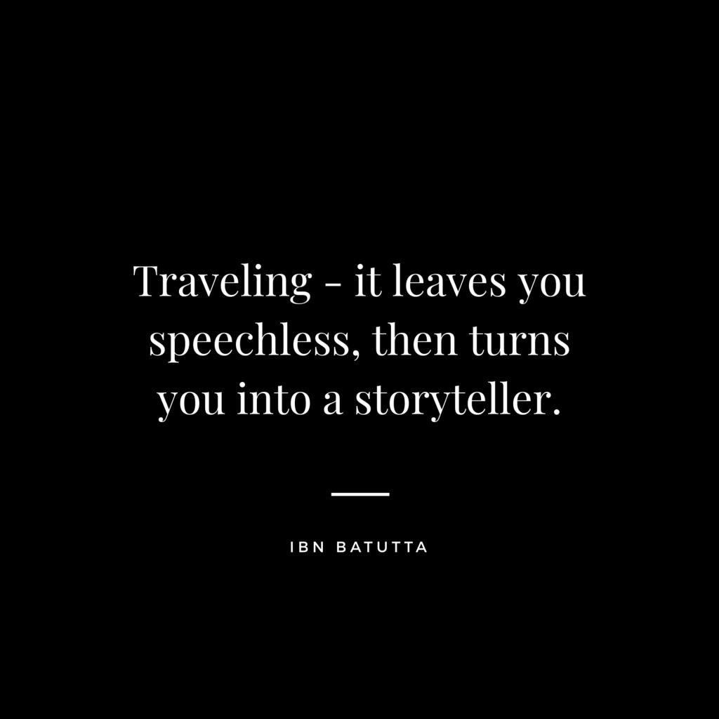 Ibn Bautta - Travel Quotes