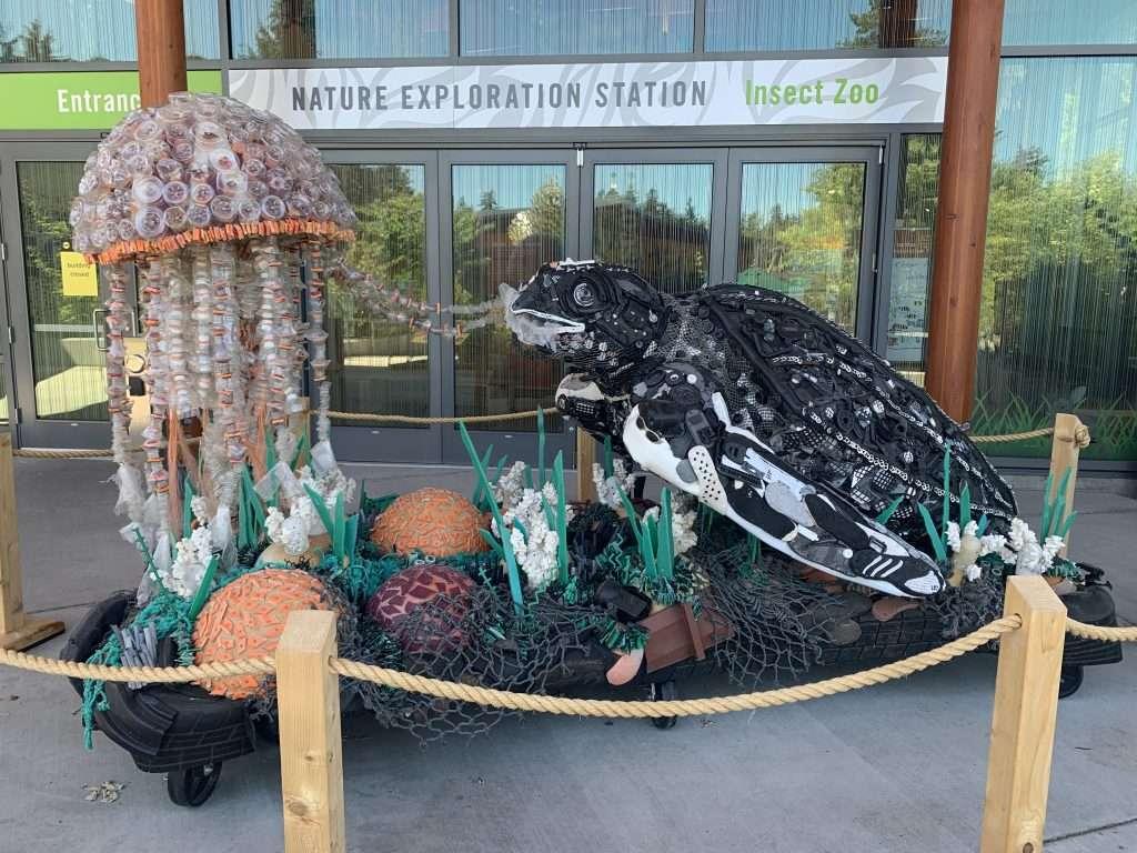 Washed Ashore Art Exhibit