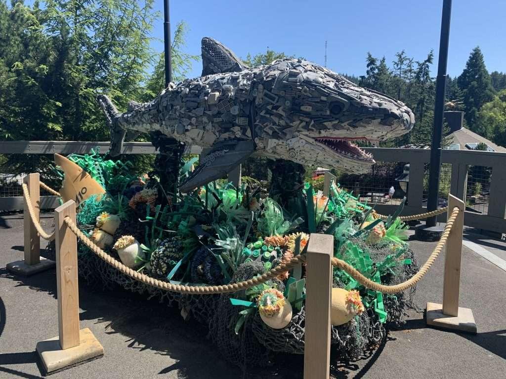 Washed Ashore Exhibit at the Oregon Zoo